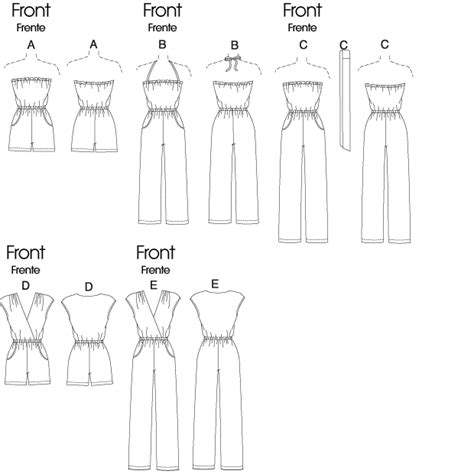 jumpsuit sewing pattern mccall 39 s 6083 sewing pattern to easy jumpsuit
