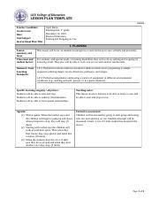 coe lesson plan spe 330collaborativelesson gcu lesson plan gcu college of education lesson plan template 03
