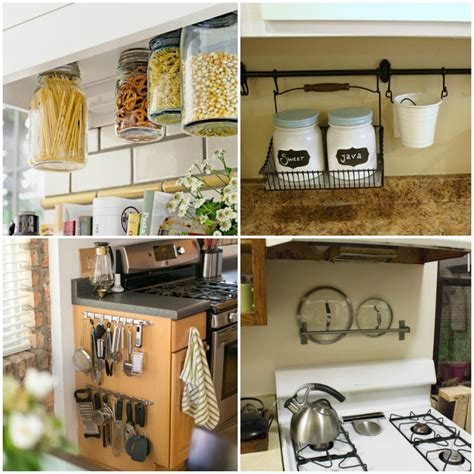 organize kitchen ideas 15 clever ways to get rid of kitchen counter clutter 1245
