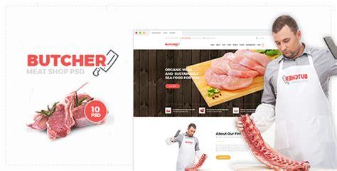 butcher template joomla butcher meat shop psd template by webstrot themeforest