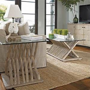 coastal living resort 2 piece coffee table set in With coastal coffee table sets