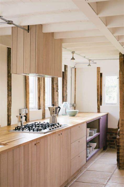 peindre facade cuisine facade meuble cuisine bois brut image sur le design maison