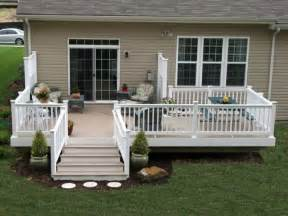 Simple Decks For Houses Ideas by This Is A Exle Mobile Home Skirting Vinyl Mobile
