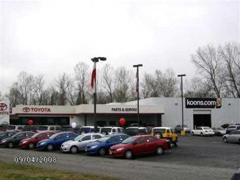 Koons Easton Toyota koons easton toyota easton md 21601 car dealership and