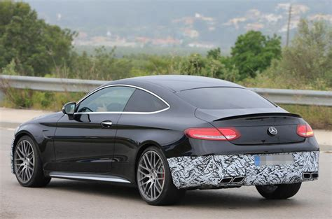 mercedes benz  class coupe facelift spotted autocar