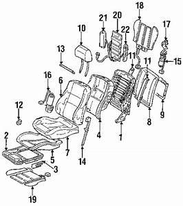 Passenger Side Headrest Rod  Clip  Whatever