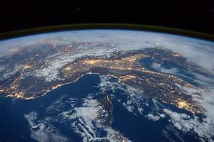 Space in Images - 2016 - 01 - Italy, Alps and Mediterranean