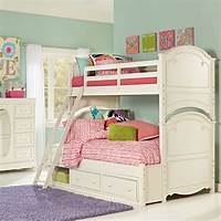 girls bunk beds Kids Room : Best Bunk Bed For Girls In White Color Sed As ...