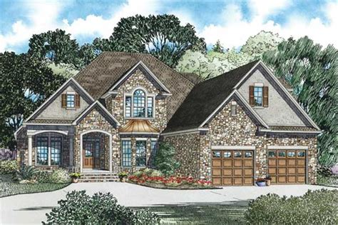 European Style Homes House Plans