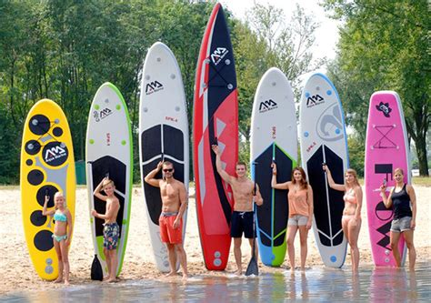 des planches de stand up paddle gonflables eurospapoolnews