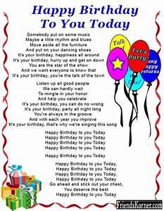 Happy birthday mother poems, a happy birthday poem - Funny ...