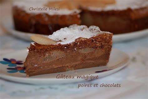 g 226 teau aux poires et p 233 pites de chocolat la table 224 dessert