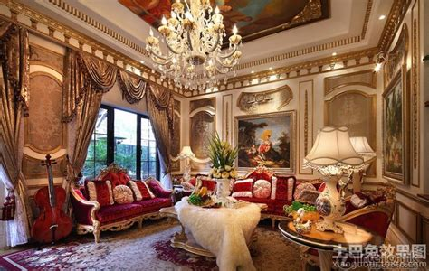 Baroque Style Decorated The