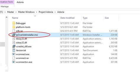 install android app in windows phone project astoria project astoria install android apps on windows 10 mobile