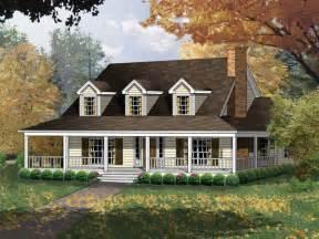wrap around front porch carney place cape cod farmhouse plan 030d 0012 house