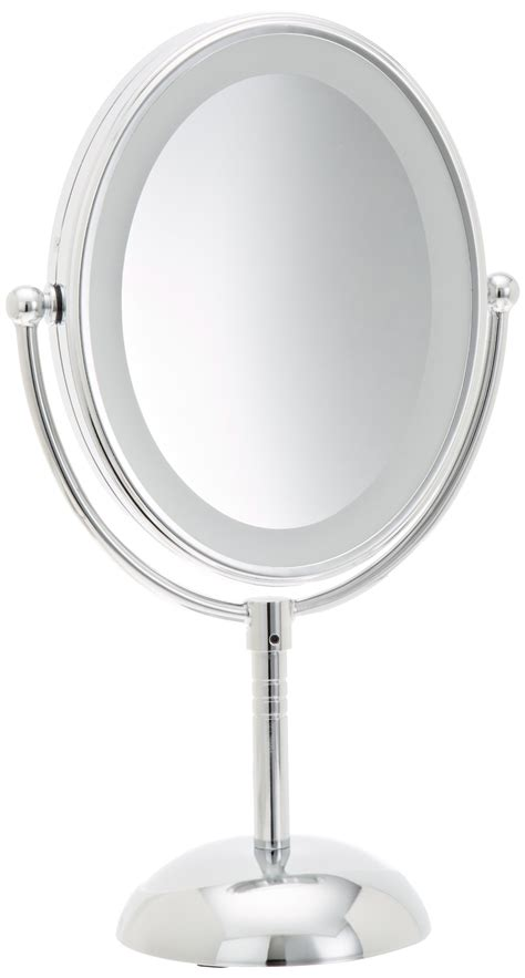 reflections led lighted collection mirror conair led makeup mirror reflections lighted battery 7x