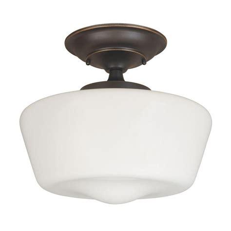 single bulb flush mount light world imports luray 1 light oil rubbed bronze semi flush