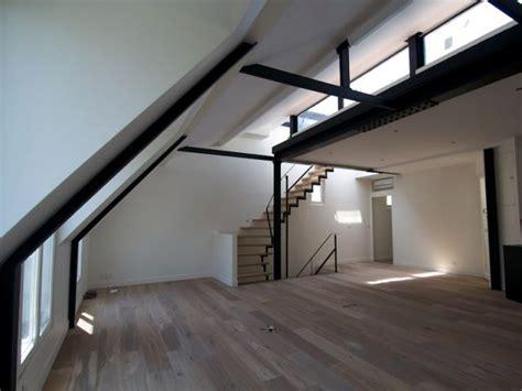 appartements transformes en duplex avec terrasse