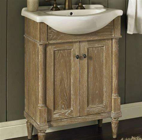 rustic bathroom vanity sets fairmont rustic chic 26 quot vanity and sink set rustic
