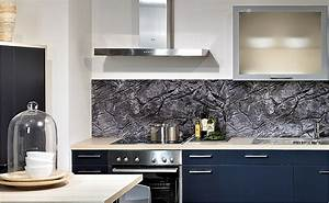 Wandverkleidung Küche Glas : r ckwandsysteme und fliesenspiegel von hornbach schweiz ~ Markanthonyermac.com Haus und Dekorationen