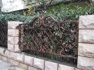 Metal, Garden, Fence, Design, Ideas