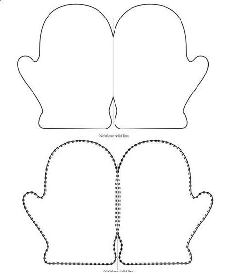 mitten template printable search results for mittens template printable calendar 2015