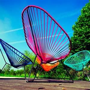Fauteuil Acapulco Jaune : fauteuil acapulco jaune de boqa ~ Teatrodelosmanantiales.com Idées de Décoration