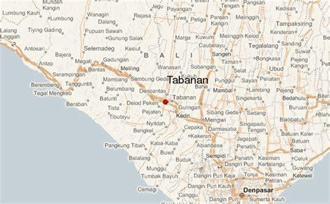 detail tabanan location map  visitor bali weather