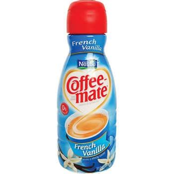 This indulgent fat free creamer is the perfect amount of flavor to wake up your coffee. Coffee-mate Liquid Non-Dairy Creamer, French Vanilla, 32 oz