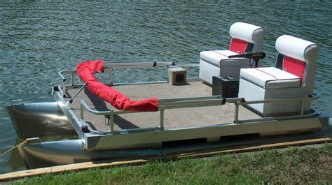 Small Pontoon Boat Ottawa by Mini Pontoon Boats By Logoboats