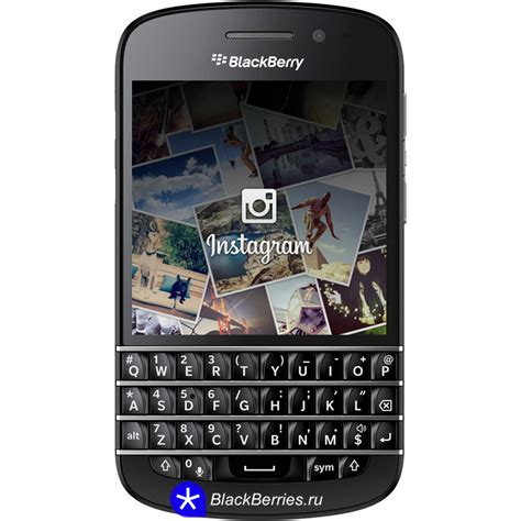 instagram для blackberry q10 blackberry в россии