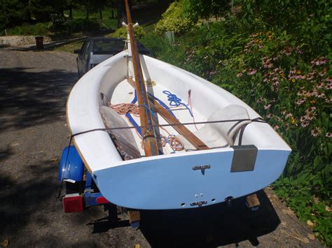 Sailing Boat With Kite by 73 Lancraft Kite Catboat Dinghy Sailboat For Sale In Minnesota