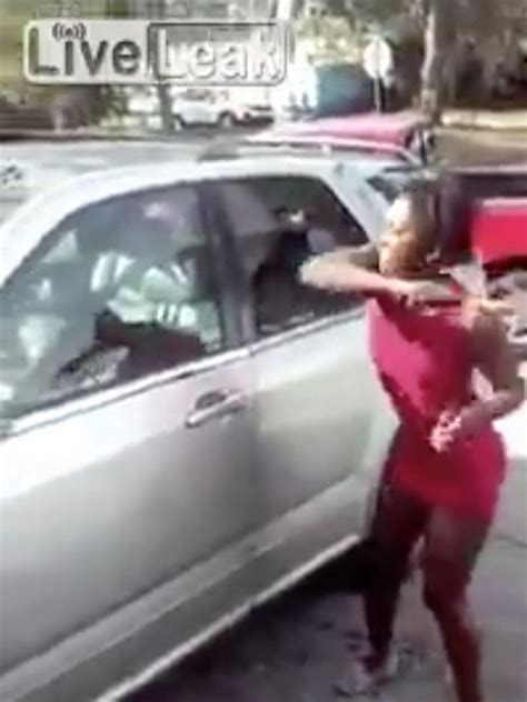 Scorned woman smashes up boyfriend's car with a hammer ...