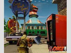 Fortnite Battle Royale Eliminate Opponents in Tomato Town