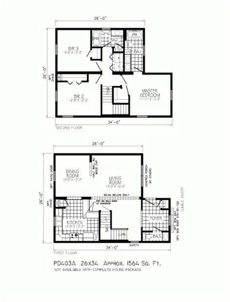 two story open floor plans pd403a rosehill by mannorwood homes two story floorplan