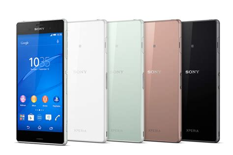 sony mobile phone range sony xperia z3 range brings ps4 gaming to mobile whistleout