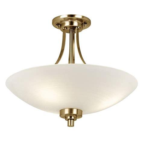 welles ceiling light antique brass