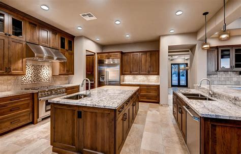 craftsman kitchen island 37 craftsman kitchens with beautiful cabinets designing idea 2986