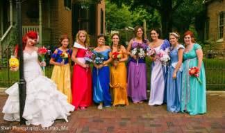 themed wedding just like a fairytale disney princess themed wedding geekologie