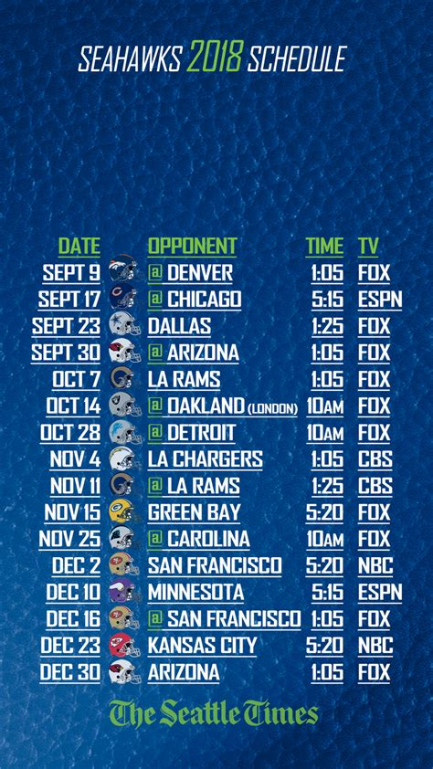 analysis rating  seahawks  schedule game  game