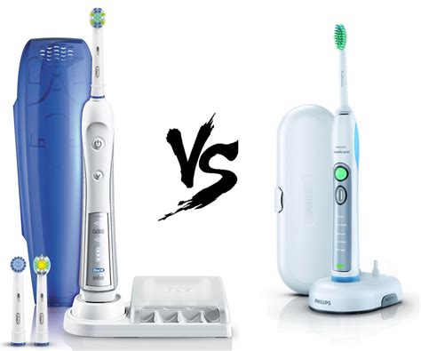 Oral-B VS Sonicare - Who Makes the Best Electric Toothbrush