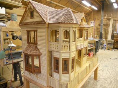 victorian dollhouse woodworking blog  plans