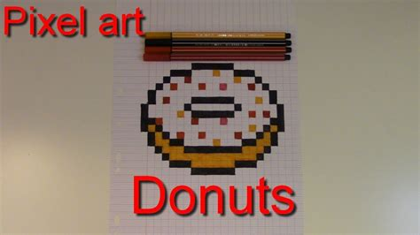 Comment Faire Un Donuts En Pixel Art #2