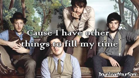 Mumford And Sons // The Cave // Lyrics + Download