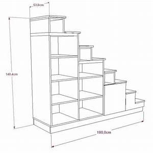 Bibliothque Escalier Pour Mezzanine