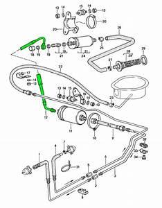 Porsche 924 S Fuel Pump To Fuel Filter Hose 94435604112