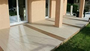 realisation terrasse carrelage exterieur imitation bois cf With carrelage terrasse imitation bois