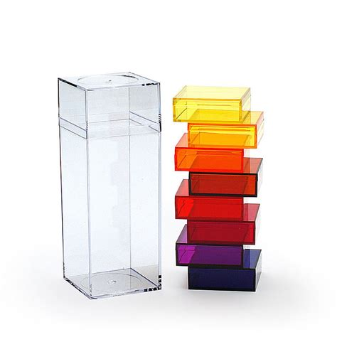 amac boxes top3 by design amac amac tower box l 9pc gradient