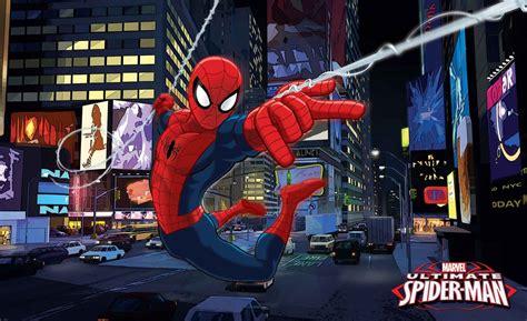 carta da parati spiderman uomo ragno marvel