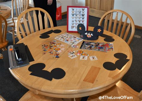 diy    mickey mouse ears party craft